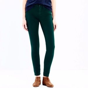 Green Madewell jeans!